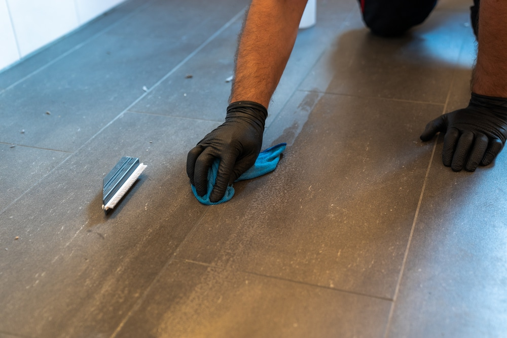 professional grout cleaner